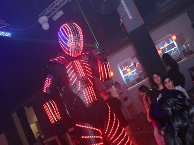 רובוט לייזר